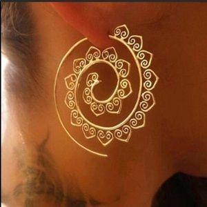 Jewelry - Restocked💫 TRIBAL BOHO INFINITY EARRINGS NWT